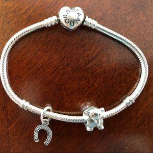 Jewelry - Pandora bracelet + charms